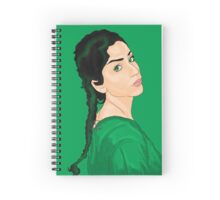 Green Envy Spiral Notebook