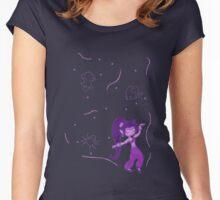 Shantae Night Dance Women's Fitted Scoop T-Shirt
