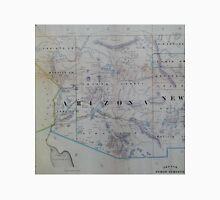 Vintage Map of Arizona (1866) Unisex T-Shirt