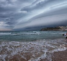 Storm coming pano by Adriano Carrideo