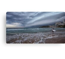 Storm coming pano Canvas Print