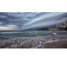 Storm coming pano Photographic Print