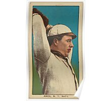 Benjamin K Edwards Collection Red Ames New York Giants baseball card portrait 003 Poster