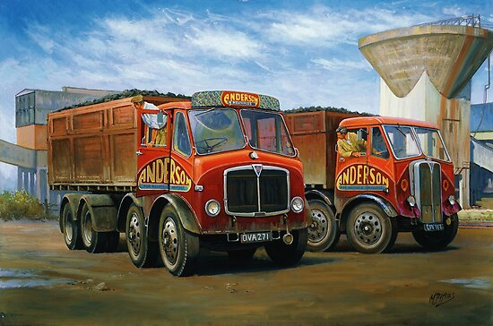 Sam Anderson's AEC tippers by Mike Jeffries