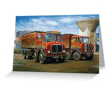 Sam Anderson's AEC tippers Greeting Card