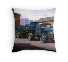 Scammell MRS 1931 Throw Pillow