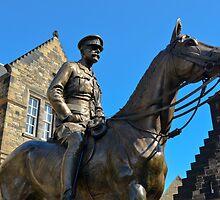 Edinburgh Castle Horsey by davefozz