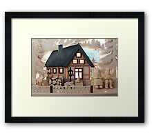 Christmas Decoration - Made in Saxony Framed Print