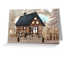 Christmas Decoration - Made in Saxony Greeting Card