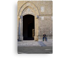 The Old Man of Siena Canvas Print
