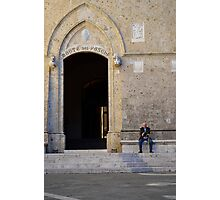 The Old Man of Siena Photographic Print