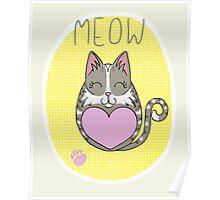 Tiggle Cat Poster