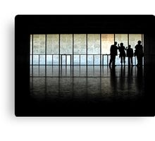 In a museum Canvas Print