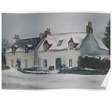 Winter in Lochcarron Poster