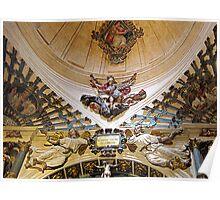 Interior chapel, Burgos Cathedral, Spain Poster