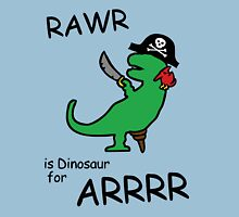 RAWR is Dinosaur for ARRR (Pirate Dinosaur) T-Shirt