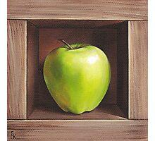 """Green apple"" Photographic Print"