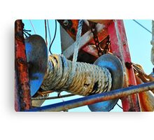 Winch  Canvas Print