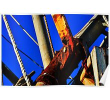 Rusted Rigging  Poster