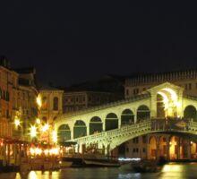 Rialto Bridge in Venice Sticker