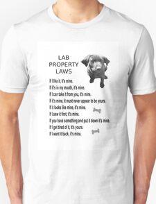 LAB PROPERTY LAWS T-Shirt