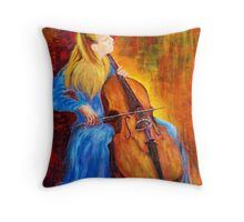 Homage to Jacqueline Du-Pre Throw Pillow