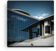 Government quarter in Berlin Canvas Print