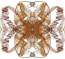 Fractal Swirls II by cofiant