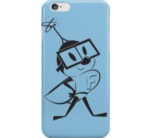 Fearless Fly – black version iPhone Case/Skin