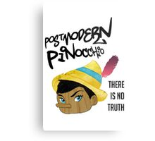 Postmodern Pinocchio Metal Print