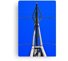 Slim Power Tower Canvas Print