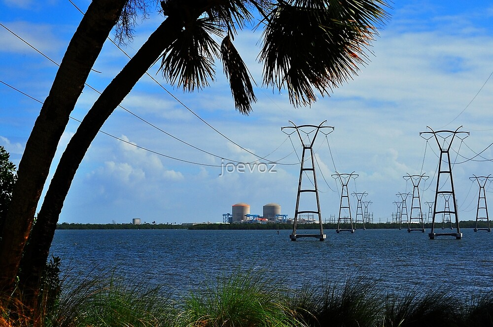 Nuclear Power Plant by joevoz