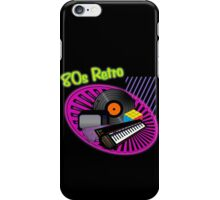 80s Retro iPhone Case/Skin