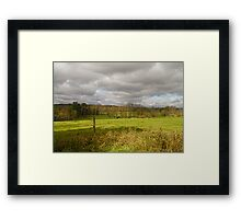 Passing Through Framed Print