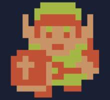 Link (Original Sprite) Kids Clothes