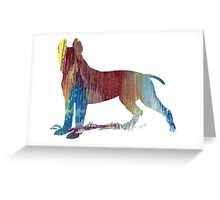 Pit bull terrier  Greeting Card