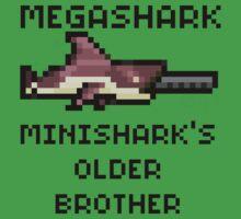 MegaShark Gun Terraria Kids Tee