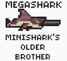 MegaShark Gun Terraria by Funkymunkey