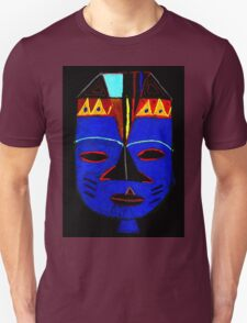 Blue Mask by Josh T-Shirt T-Shirt