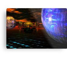 The Last Outpost Metal Print