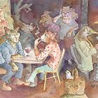Saturday Cafe by Theresa Bayer