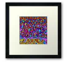 Graffiti #95b Framed Print