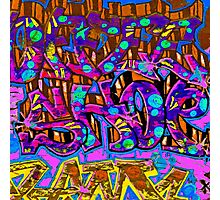 Graffiti #95b Photographic Print