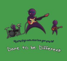 Dare to be Different Band edition by illustratorjr