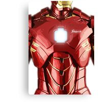 Iron Lego Canvas Print