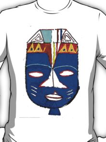 Blue Mask by Josh 2 T-Shirt T-Shirt