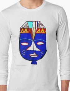 Blue Mask by Josh 2 T-Shirt Long Sleeve T-Shirt