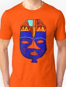 Blue Mask by Josh 2 T-Shirt T-Shirt