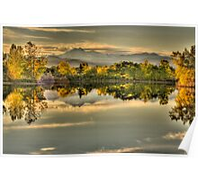 Golden Dreams At Golden Ponds Poster