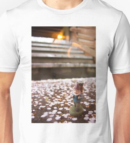 Evening Stairs Gnome Unisex T-Shirt
